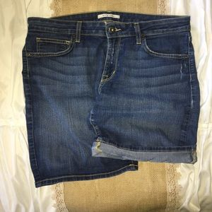 Rich & Skinny Cuff-Able denim shorts
